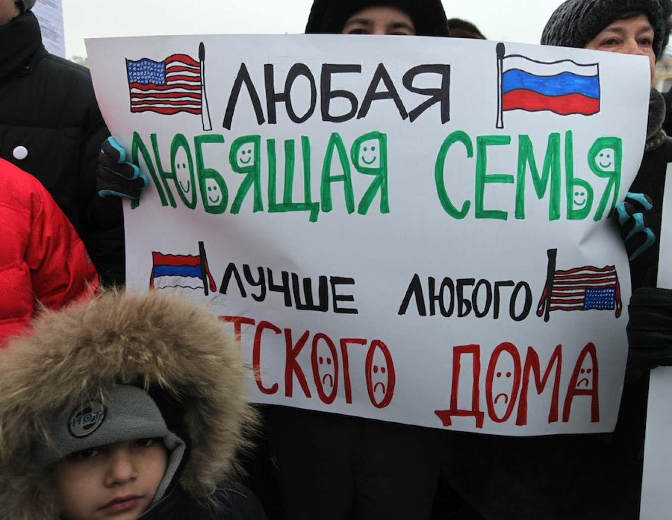 The Yakovlev law sparked outrage across Russia, and in large cities people took to the streets to rally against it. Andrei Pronin / TASS