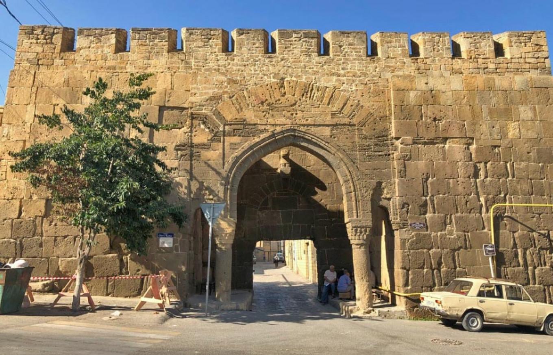 Derbent's ancient Persian city walls. Felix Light / MT