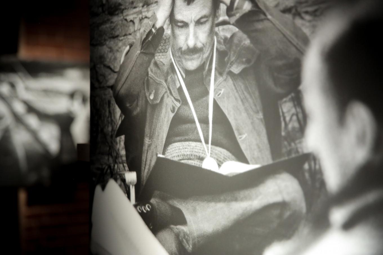 "A production still of filmmaker Andrei Tarkovsky from the filming of ""Andrei Rublev."" AZ Museum Press Service"
