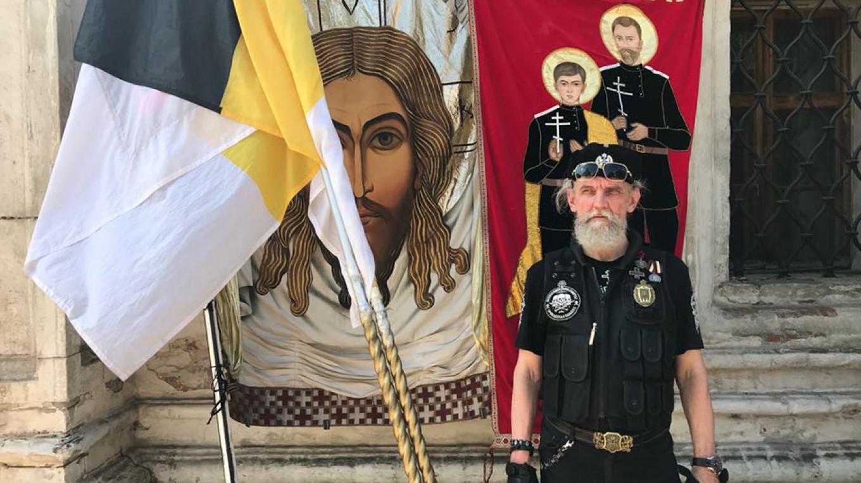 Igor Miroshnichenko, 63, of the Union of Orthodox-Banner Bearers Evan Gershkovich