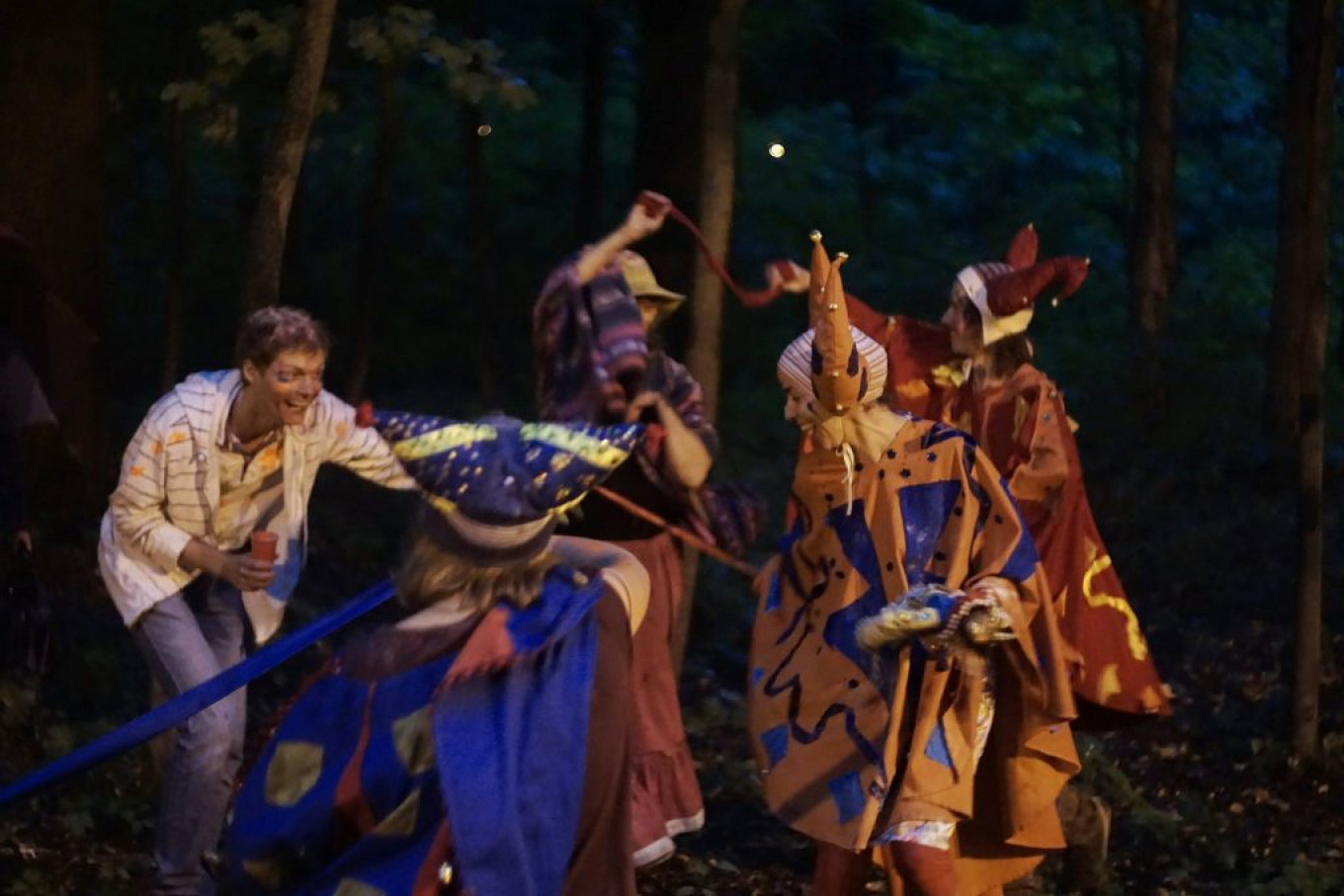Some of the Argentinian folklore in Moscow this Saturday. Argentina-in-Russia Festival