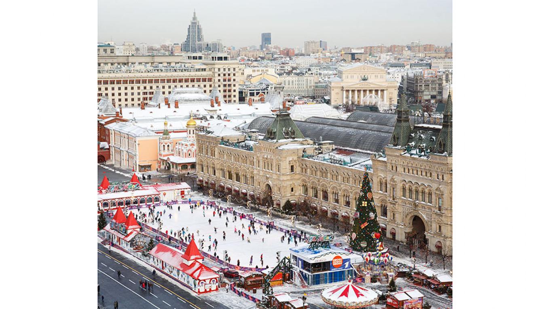 Skate under the Kremlin walls  Courtesy of GUM
