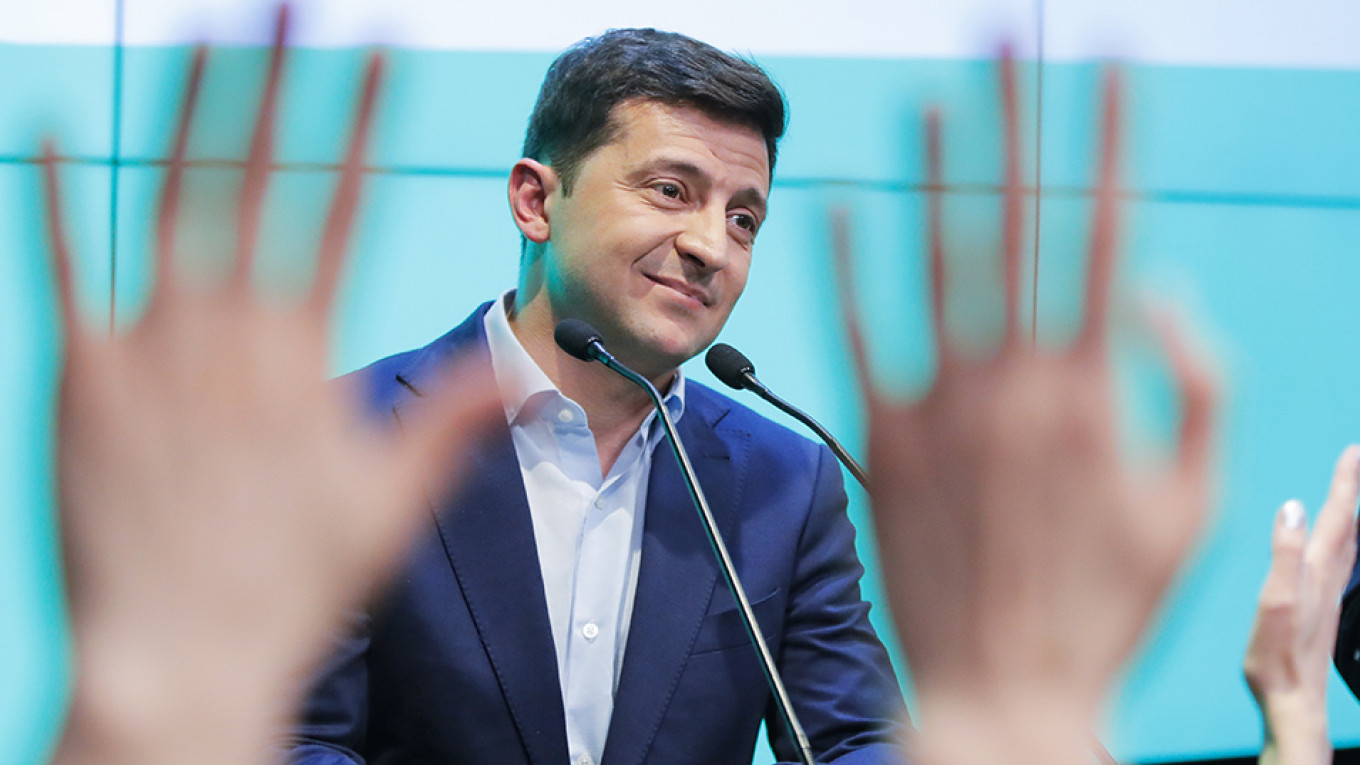 Ukraine's Election Result Pleases Both Russia's Opposition