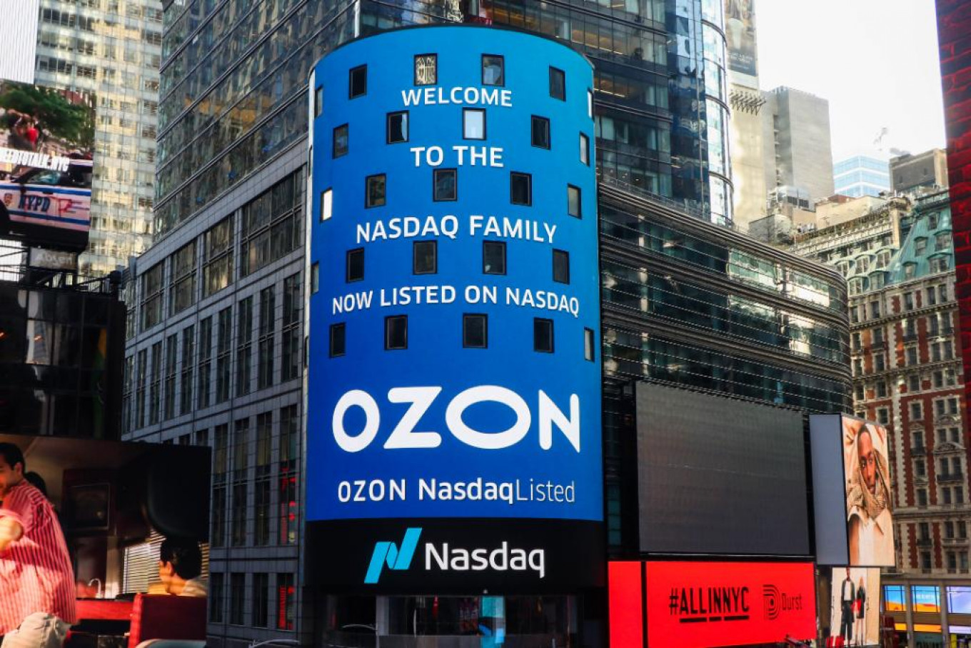 Ozon listed on the U.S. Nasdaq exchange in November 2020. Up to five Russian companies could follow this year, Nasdaq executives said.				 				Nasdaq