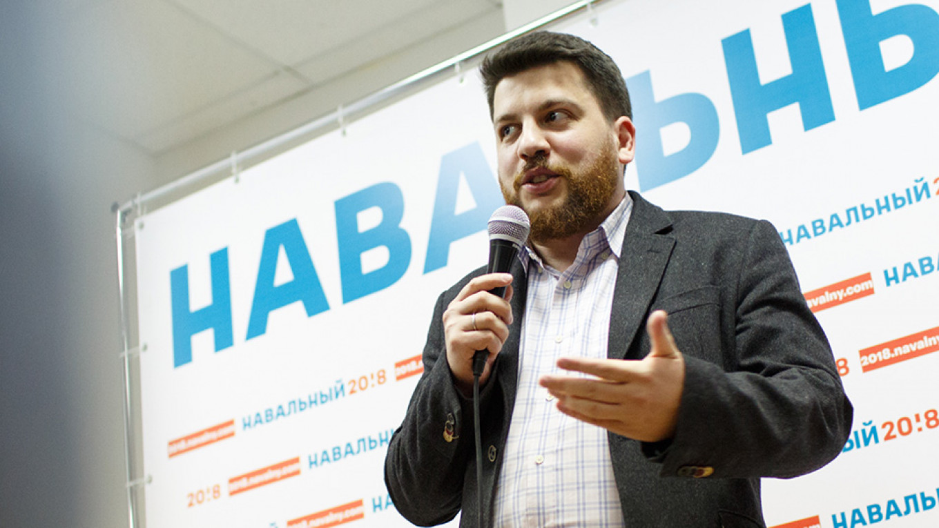 Russian Police Detain Navalny Aide Over Nationwide Pension Protests