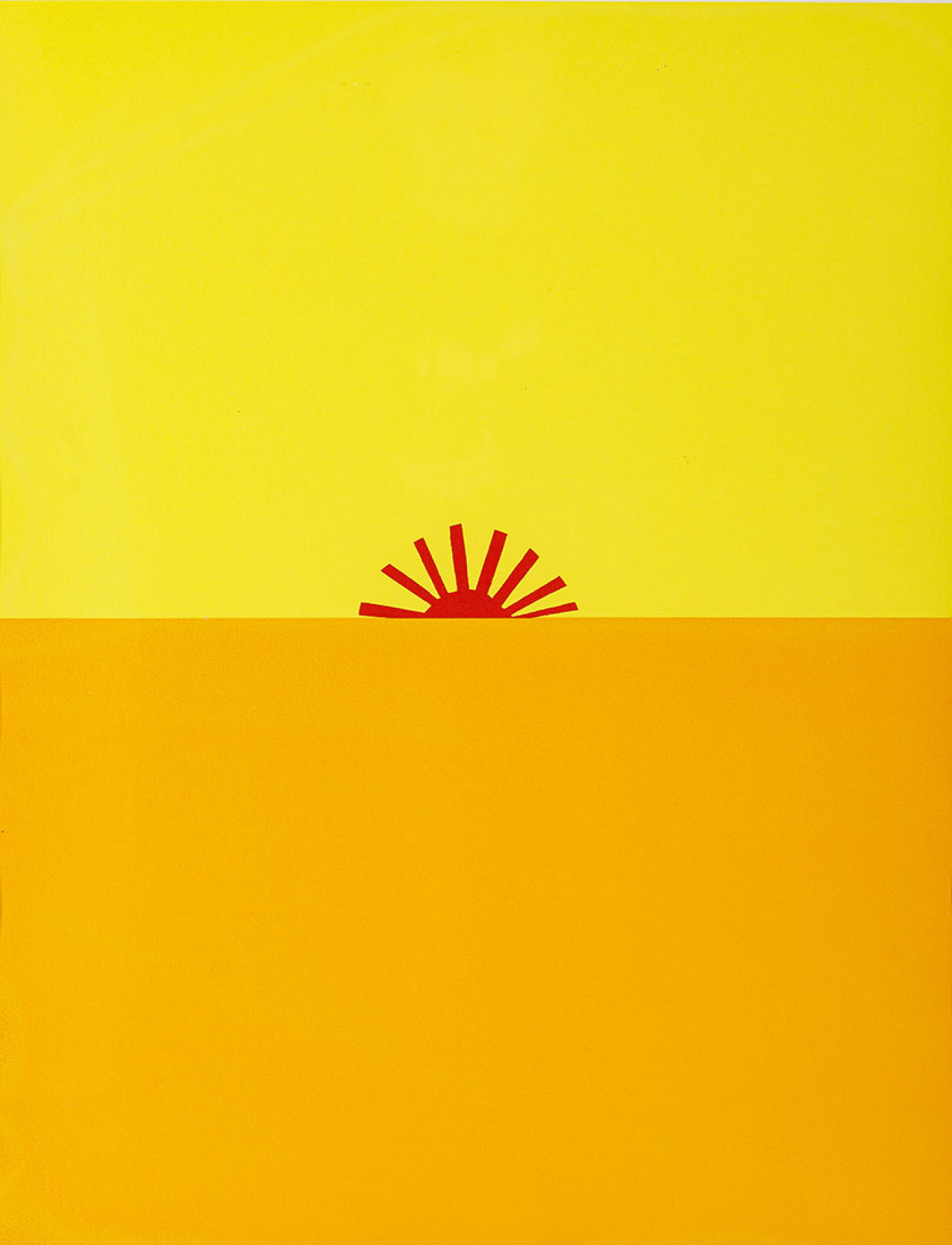 """Sun"" by Timur Novikov Sinara Art Gallery"