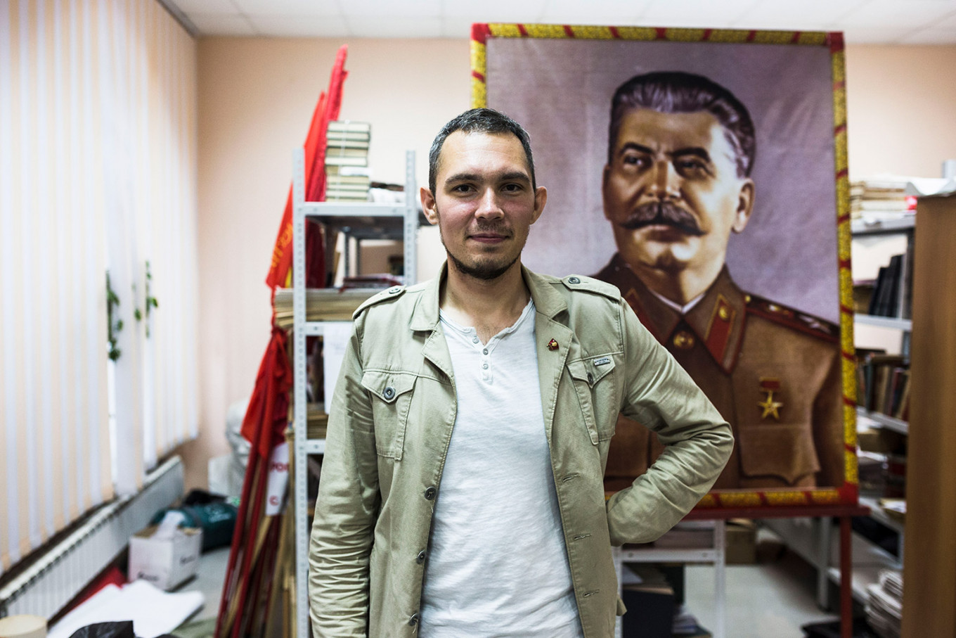 On and Off the Trans-Siberian Train: The Communist