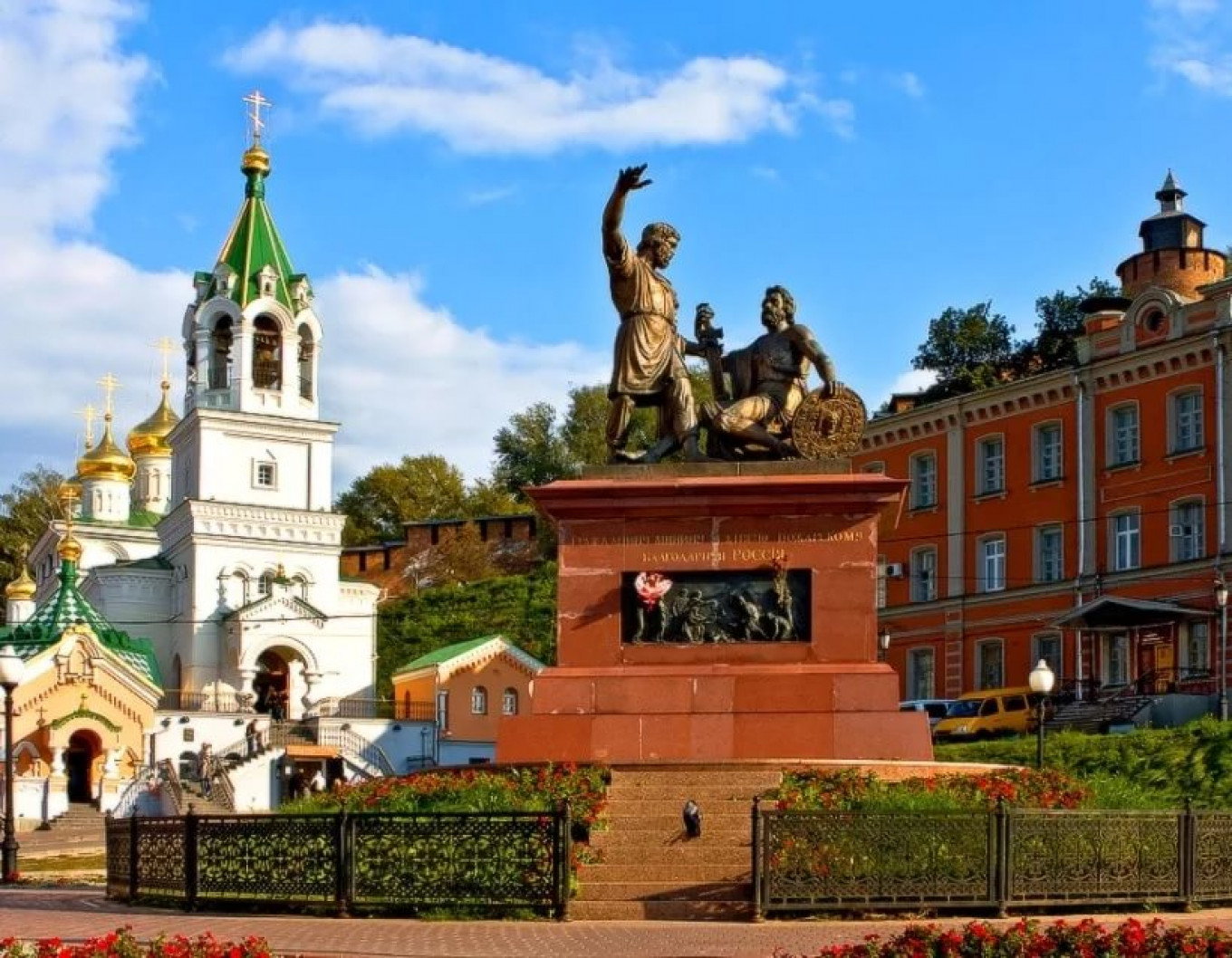 Nizhny Novgorod can be reached in just four hours from Moscow by train. RUSSIASPORT.RU