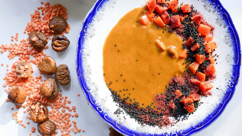 Lentil & Chestnut Soup  Jennifer Eremeeva / MT