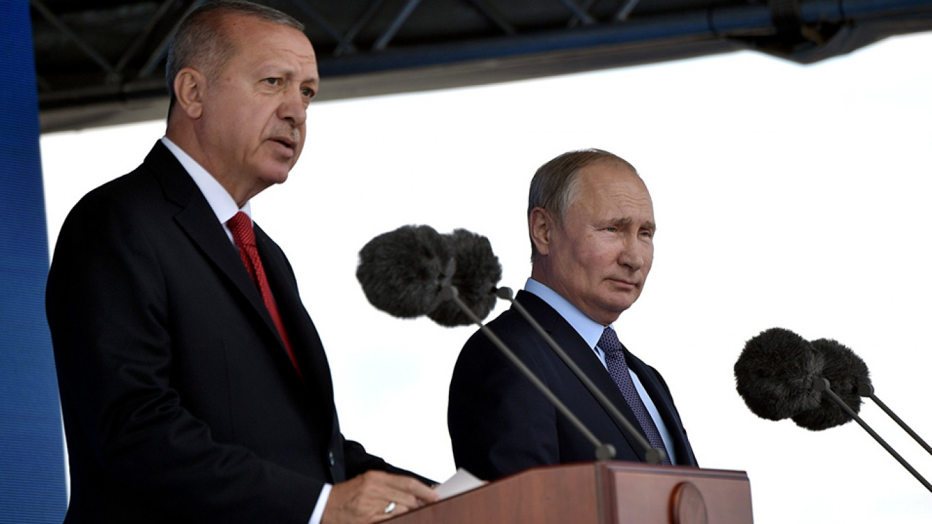 Russia-Turkey Relations Face Pressure Over Syria, but