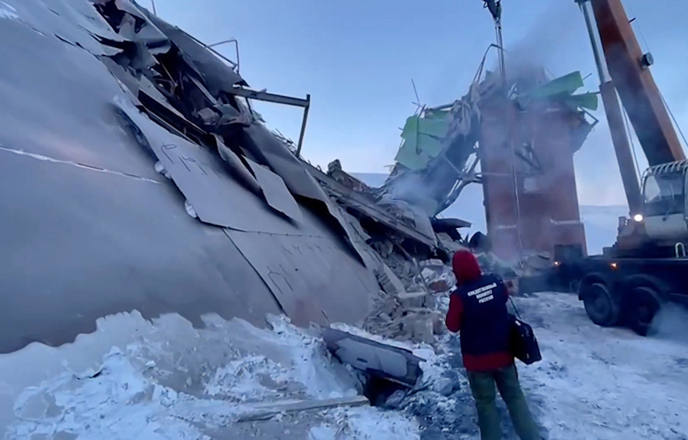 The accident happened after safety rules were broken. Russian Investigative Committee / TASS