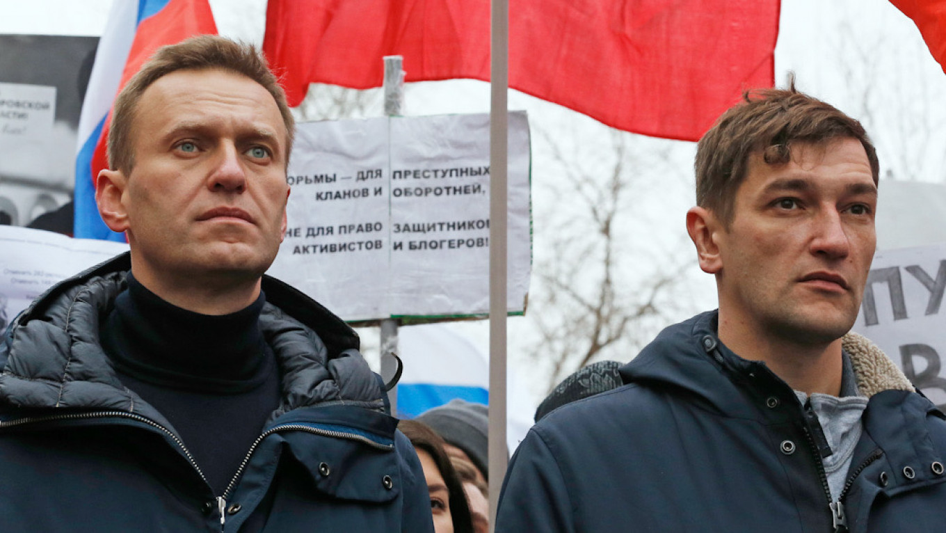 Navalny's Family Members, Allies Detained for Virus Violations at Protests – The Moscow Times