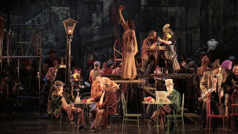 La Boheme. The Stanislavsky and Nemirovich-Danchenko Moscow Academic Music Theater