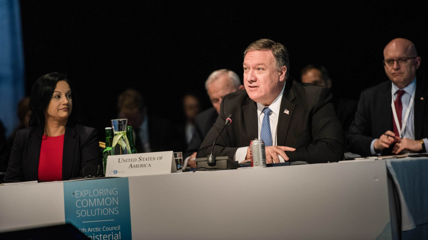 Mike Pompeo				 				Jouni Porsanger / Ministry for Foreign Affairs of Finland