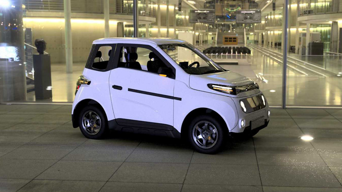 Russia to Launch World's Cheapest Electric Car in 2020 - The Moscow Times
