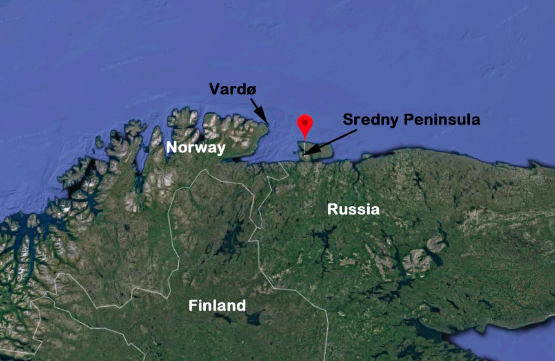The Barents Observer / Google maps