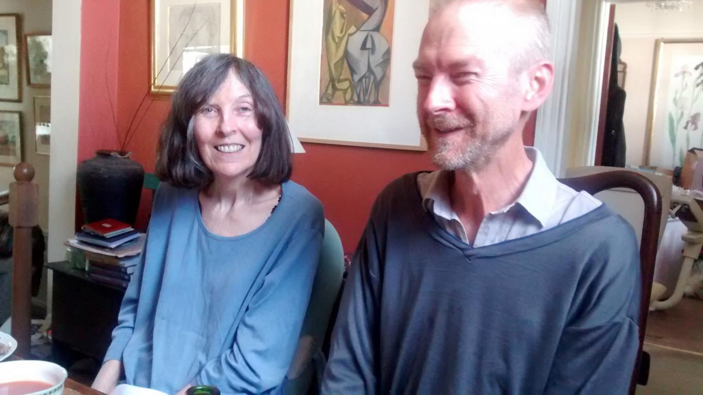 Translators Elizabeth and Robert Chandler Courtesy Robert Chandler