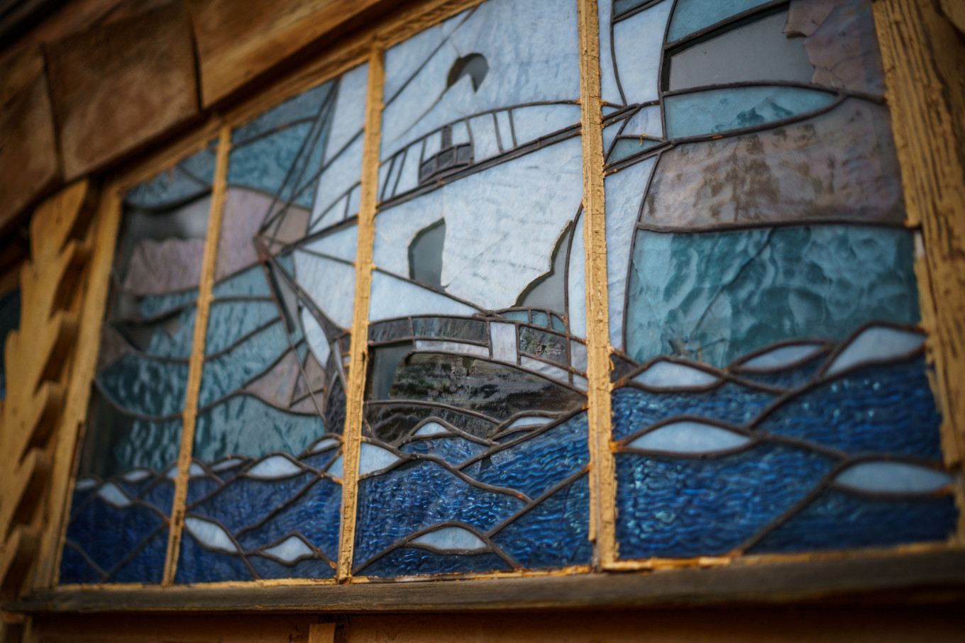 The stained glass will be fully restored. Tom Sawyer Fest