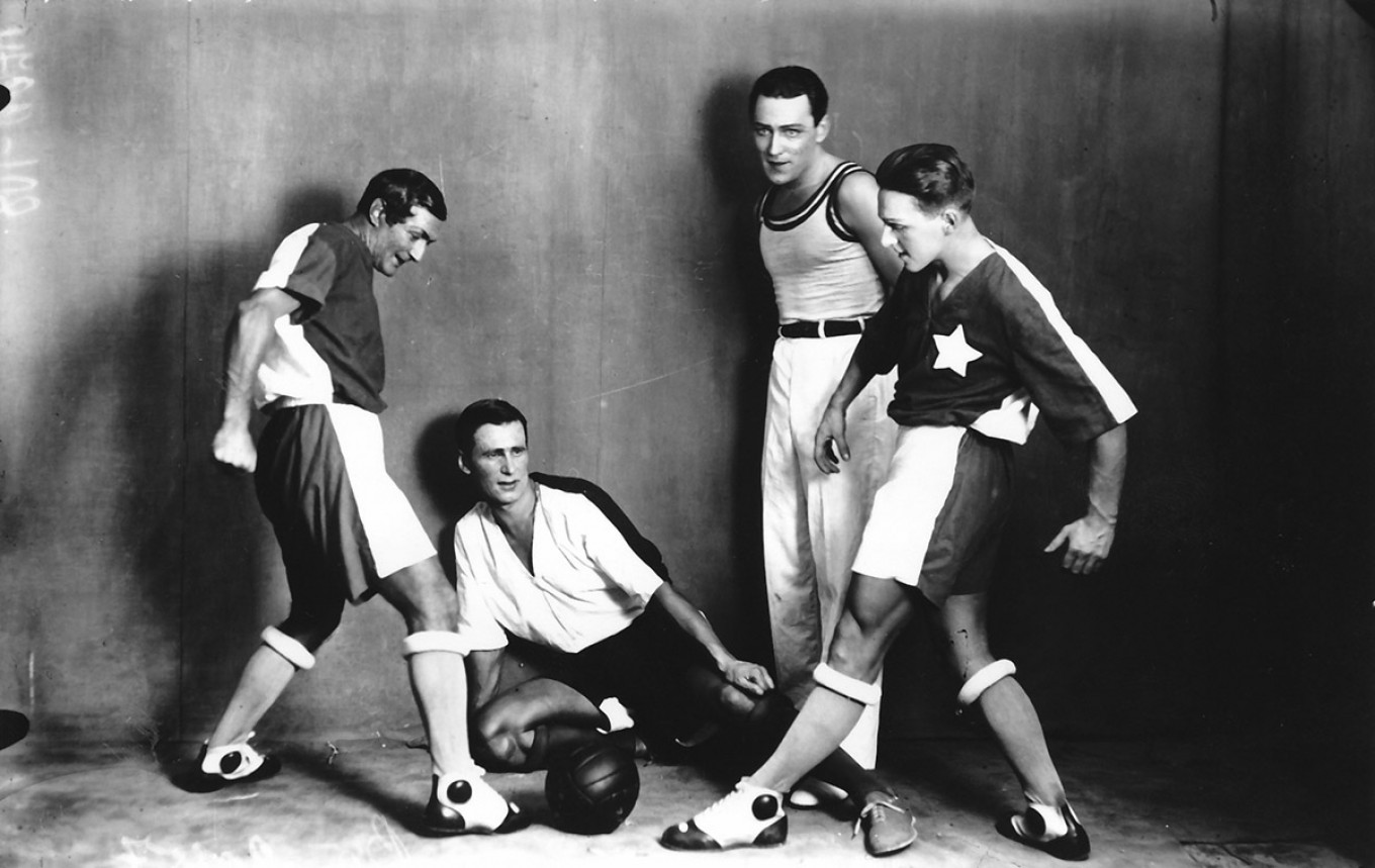 """The """"Football"""" scene from the ballet """"The Golden Age,"""" 1930 GATOB"""