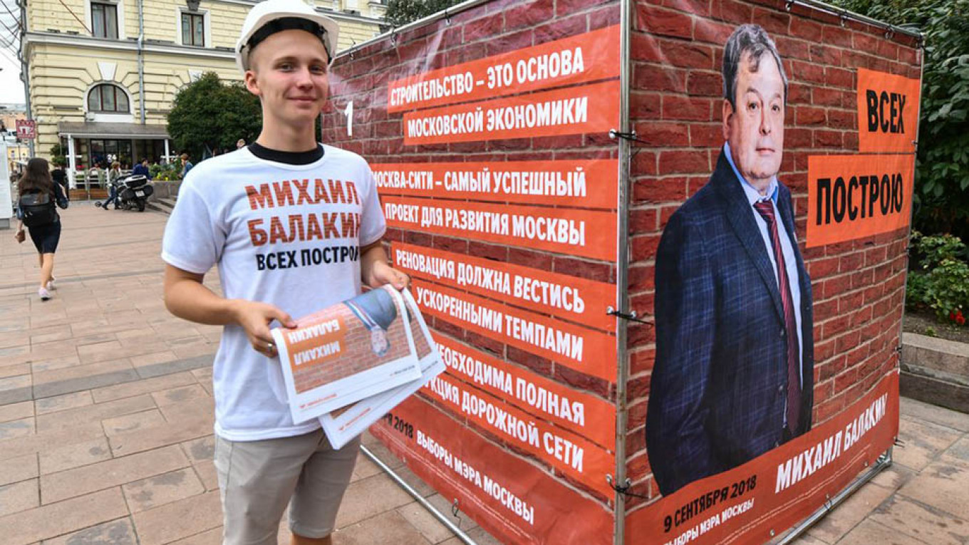 """""""I'll put everyone in their place."""" Mikhail Balakin. Igor Ivanko / Moskva News Agency"""