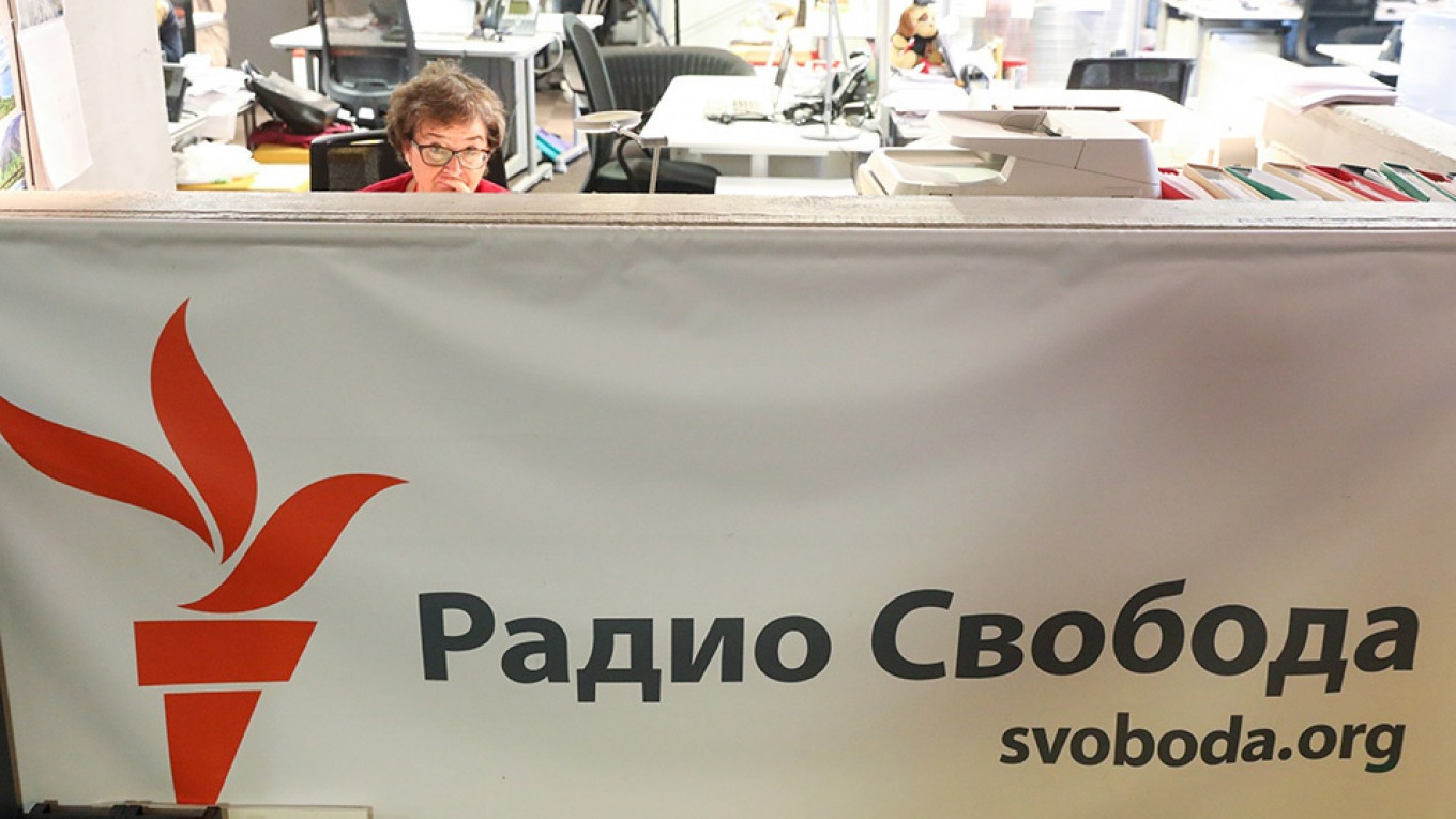 Russia Fines RFE/RL for 'Foreign Agent' Breaches – The Moscow Times