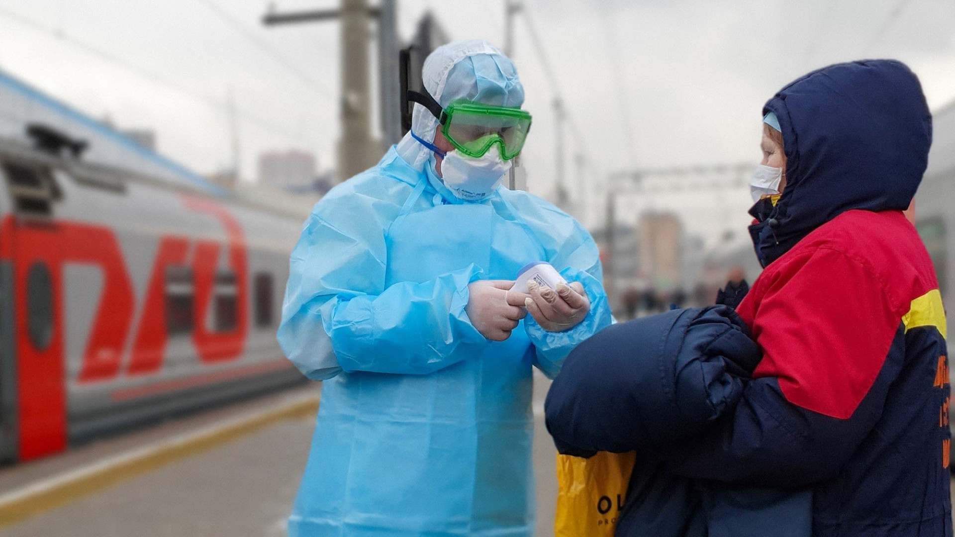 Russia Combats The Coronavirus In Photos The Moscow Times