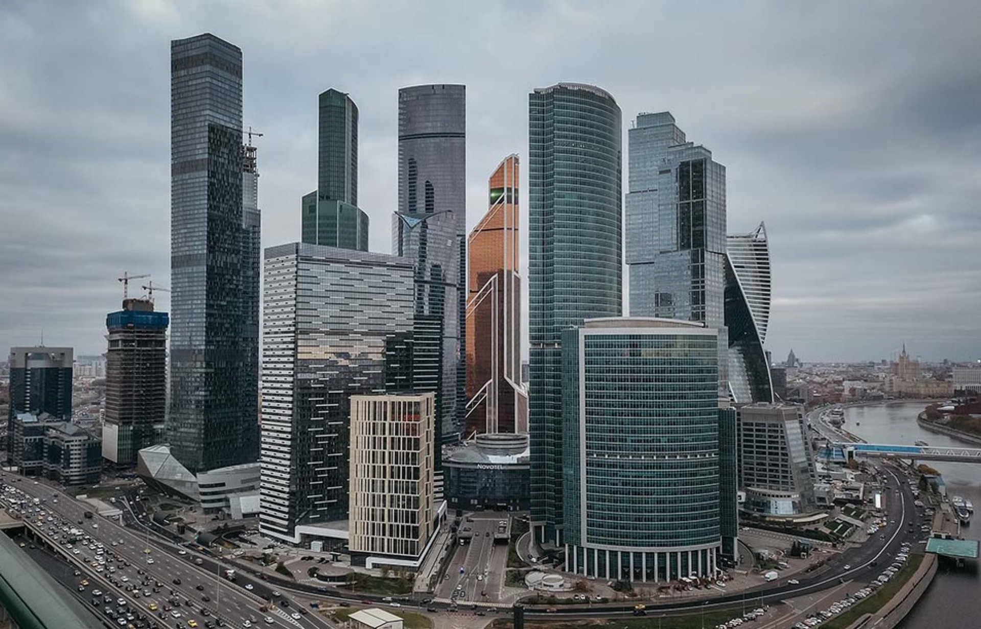 The Skyscrapers Of Moscow City In Photos