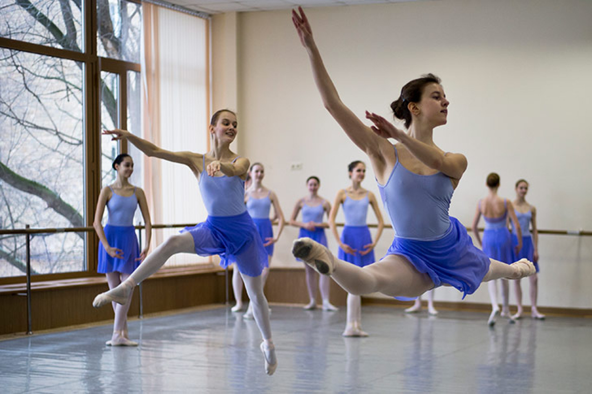 Behind the Scenes of the Bolshoi Ballet Academy