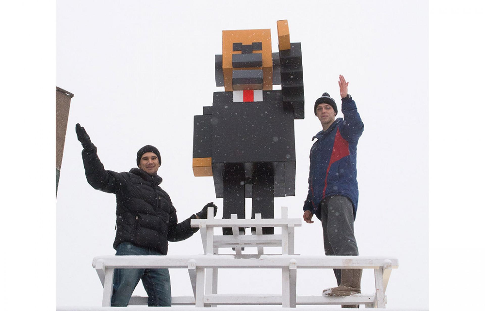 Minecraft Lenin Statue Riles Russia's Communists