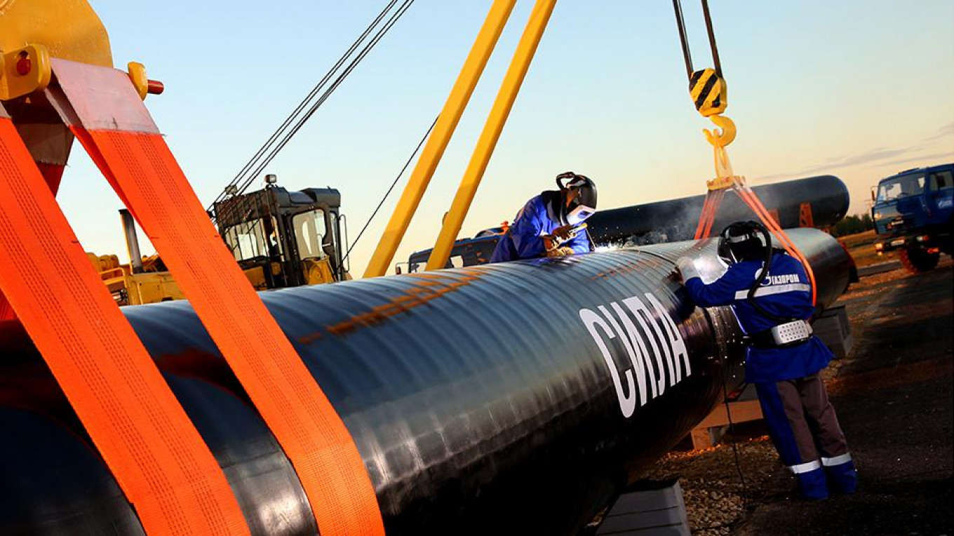 Cost of Russia's 'Power of Siberia' Gas Pipeline to China Balloons ...