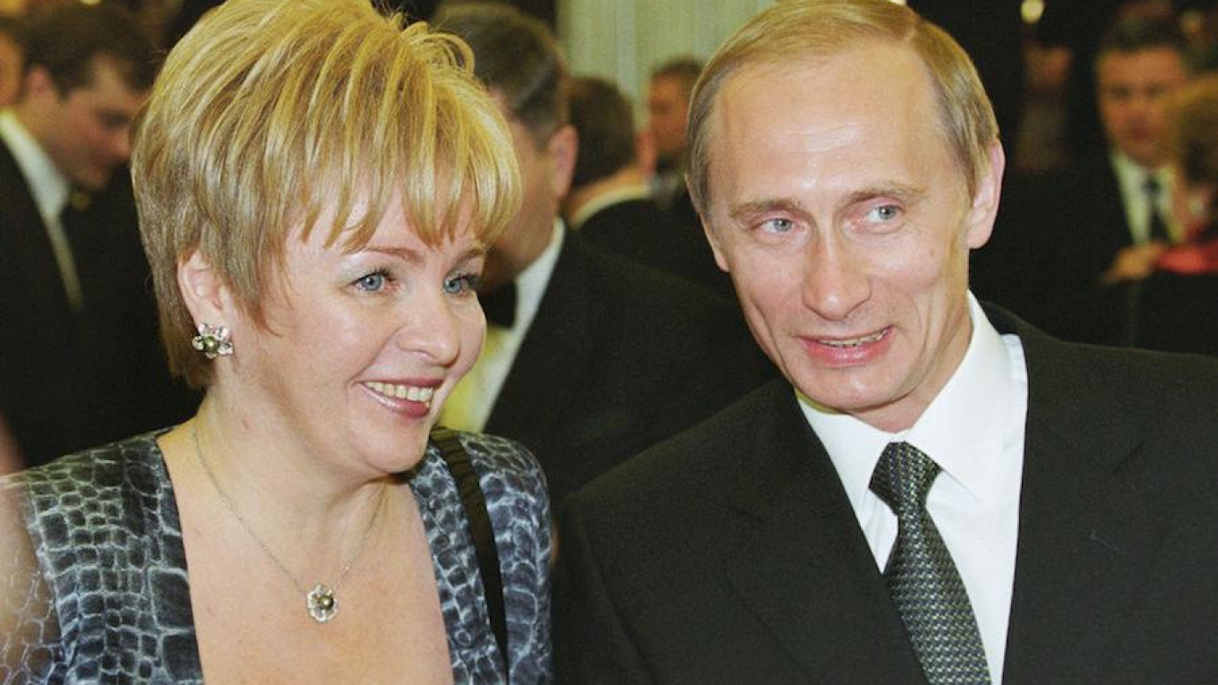 Putin's Ex-Wife Linked to Multi-Million Dollar Property Firm