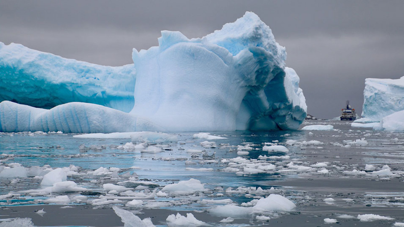 Ice Between Russia and Alaska Is At Record Lows, Scientists Warn