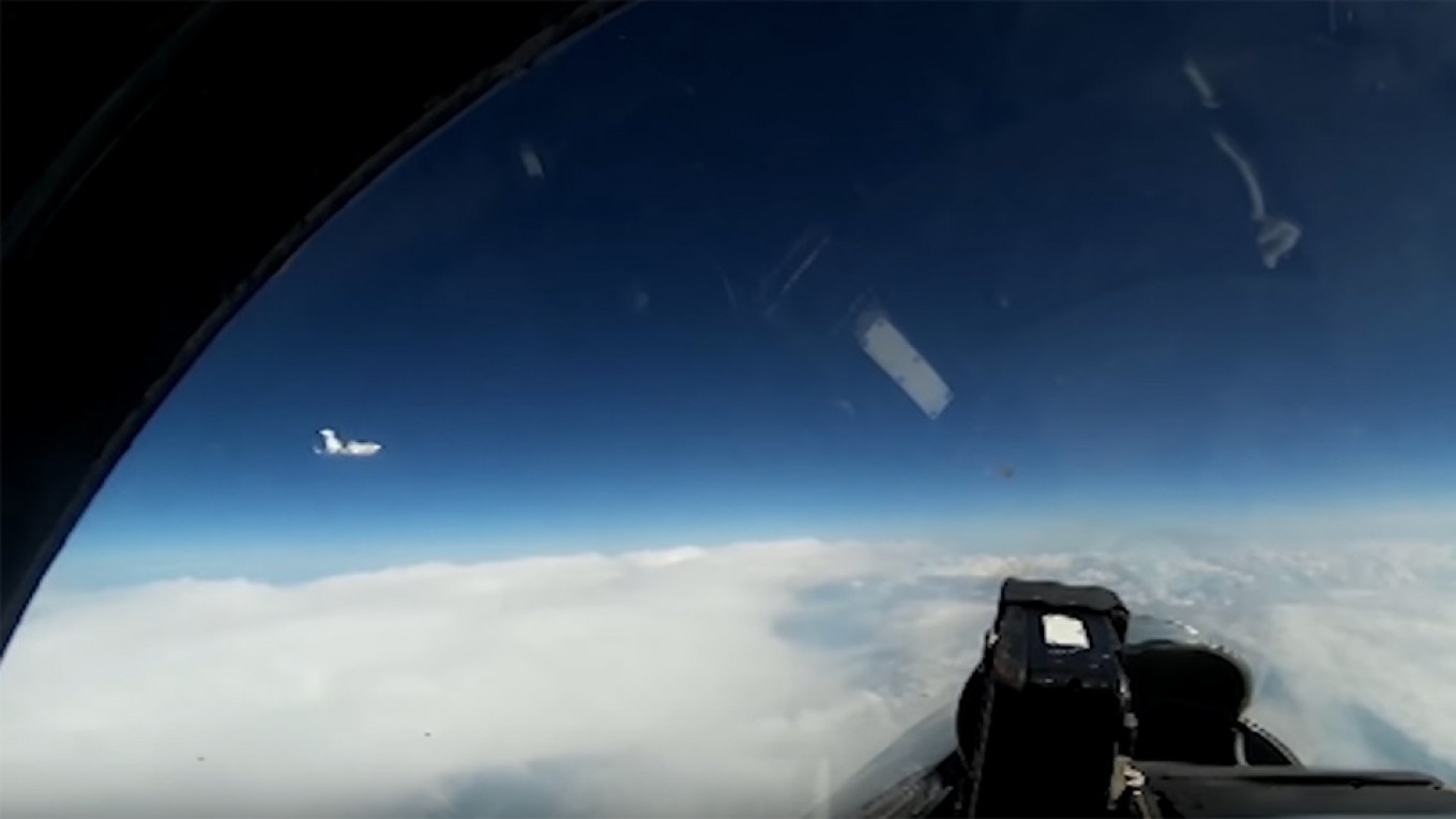 Russia Intercepts Swedish Spy Plane Over Baltic, Posts Video Footage