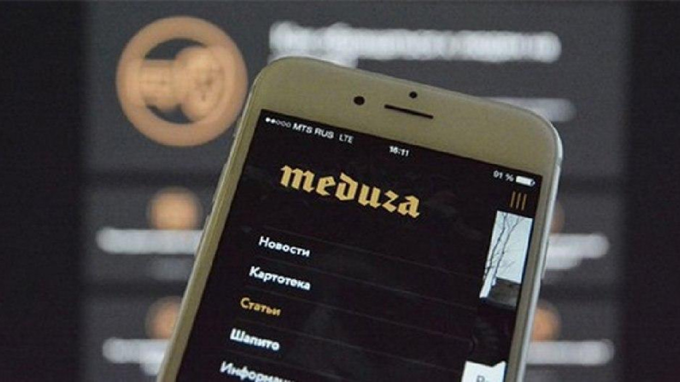 Russia Declares Independent News Site Meduza a 'Foreign Agent' - The Moscow  Times