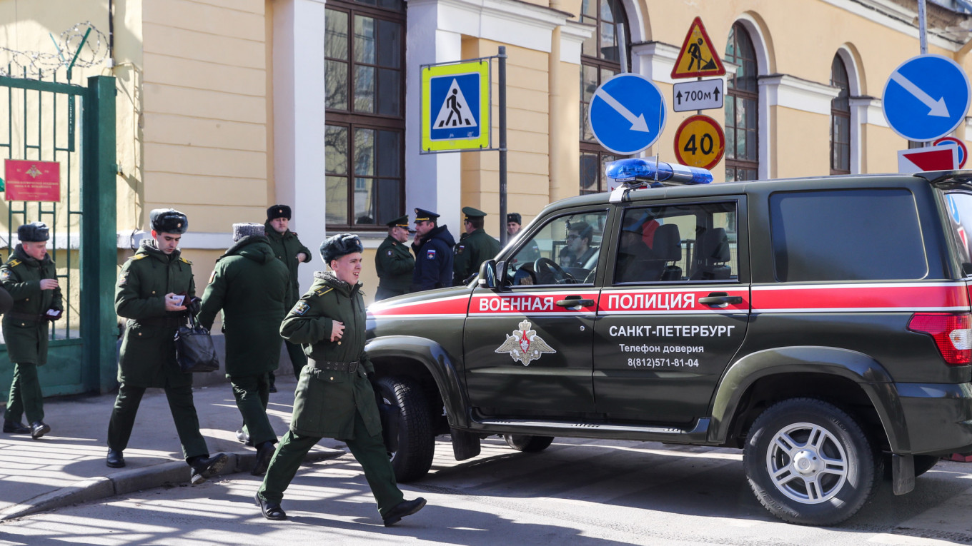 4 Injured in St  Petersburg Military Academy Explosion – Reports