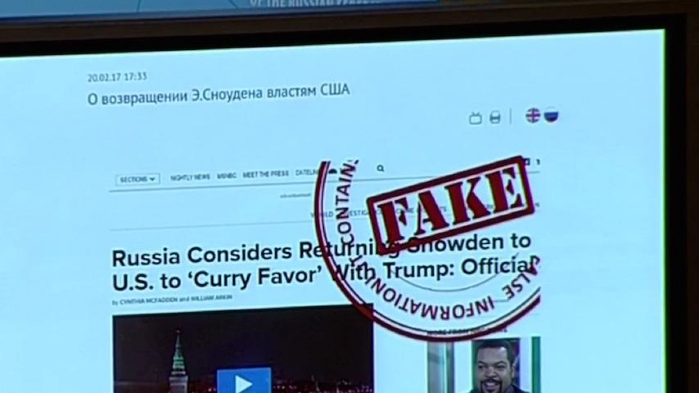 Russia S Foreign Ministry Joins The Battle Against Fake News Seriously