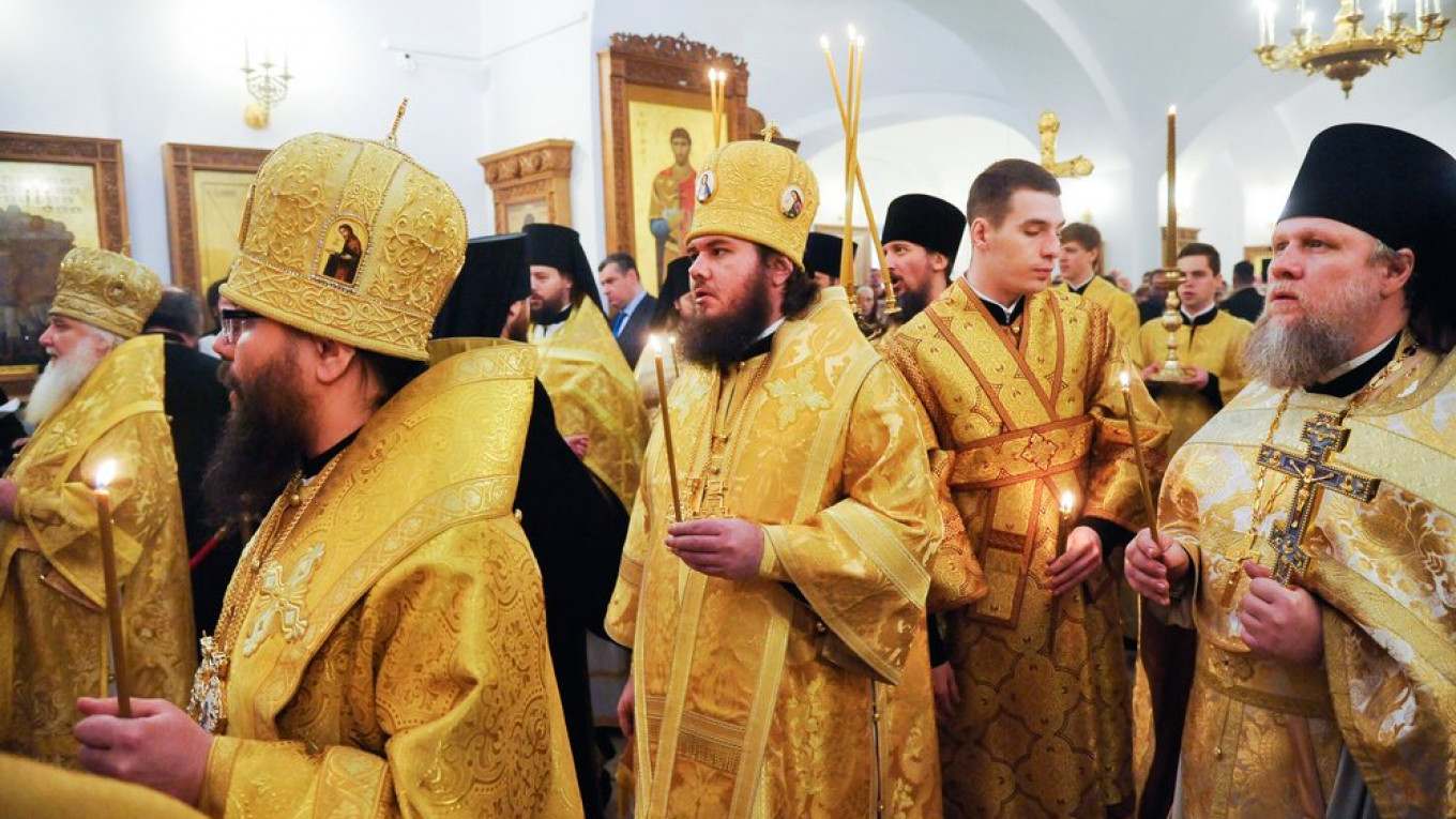Nearly 70 Priests Urge Russia to Drop Prosecutions of Moscow Protesters