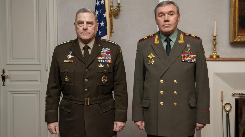 Top U.S., Russian Generals Meet in...