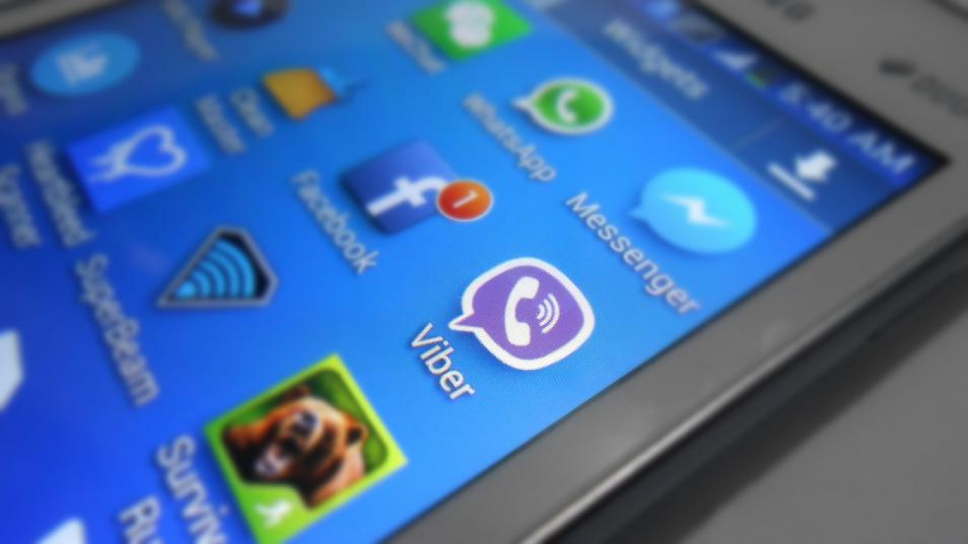 Russia Could Ban Messaging Service Viber, Minister Says