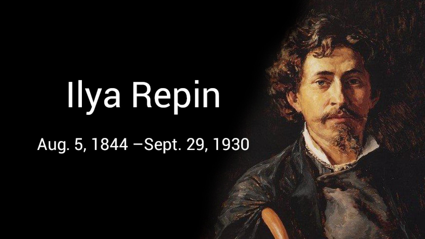 On This Day Ilya Repin Was Born