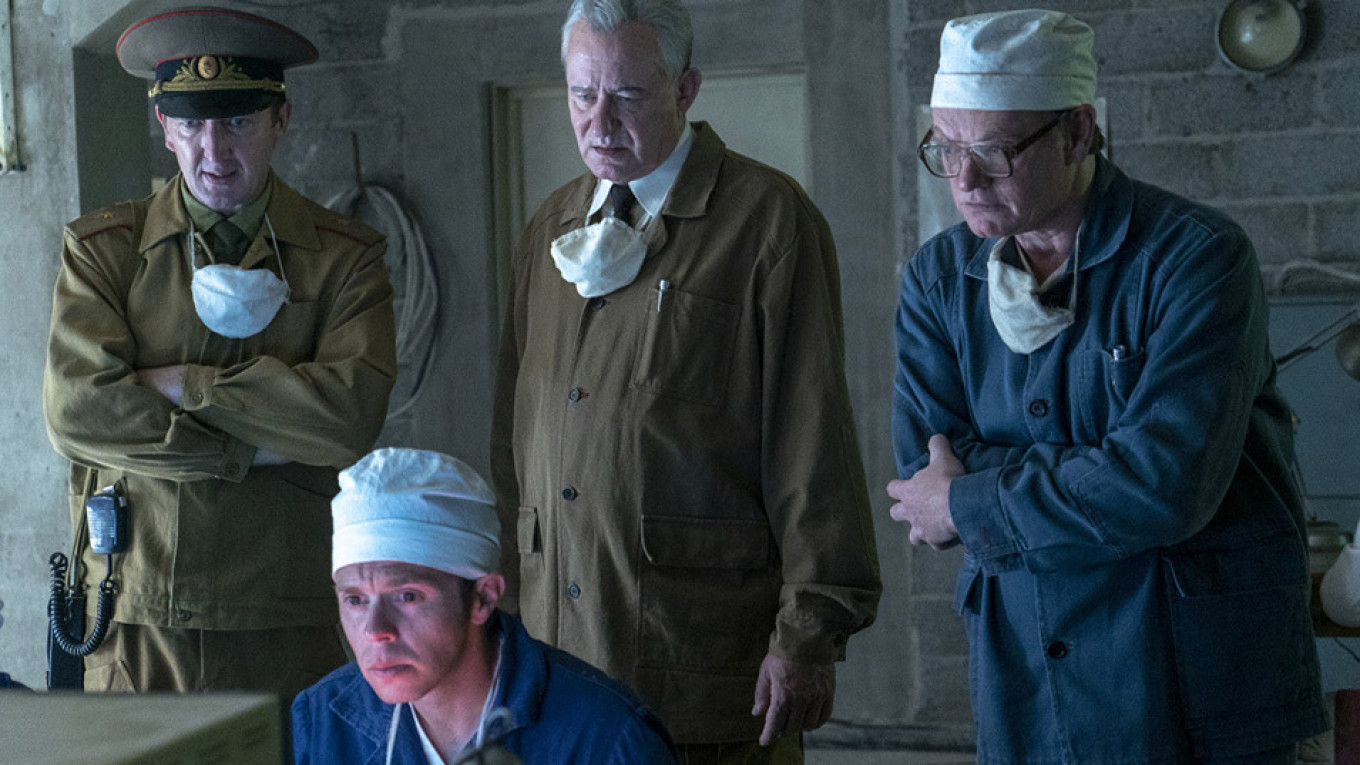 Putin's Media Struggle to Deal With HBO's Chernobyl