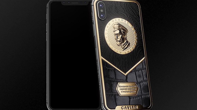 best service 4135b 264b9 Luxury Boutique Unveils iPhone X Tribute to Soviet Secret Police Chief