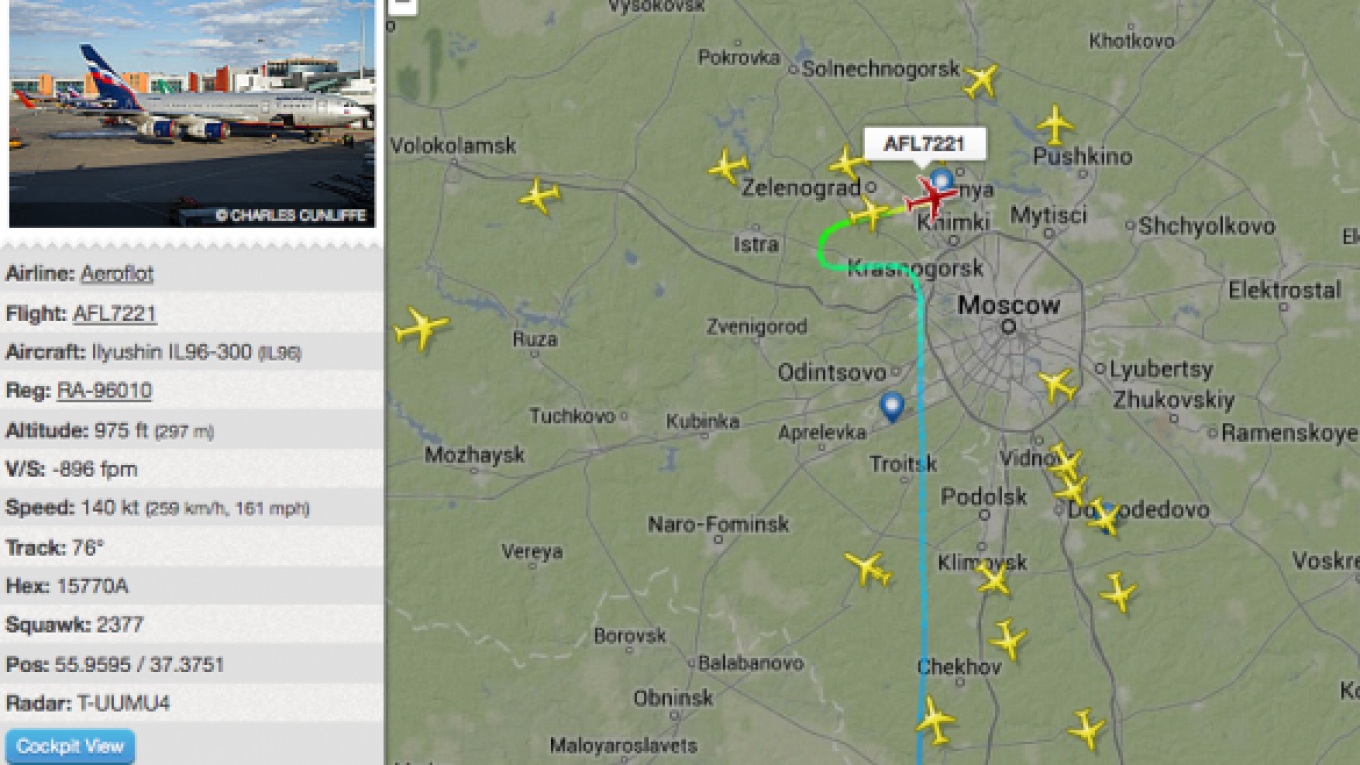 Flightradar24 Expands Live Flight Tracking Service Over Russia
