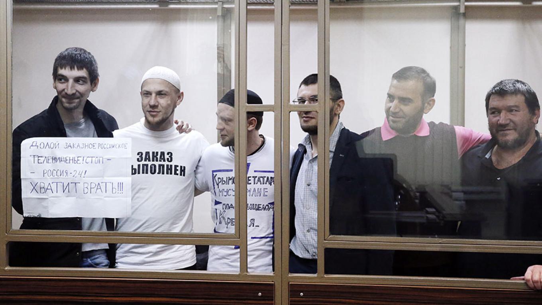 Russia Jails 6 Crimean Tatar Activists for Terrorism, Sparking Condemnation