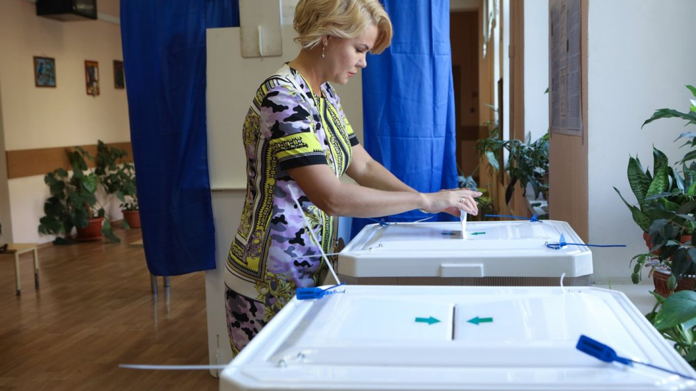 Russia's Regional Elections, Explained - The Moscow Times