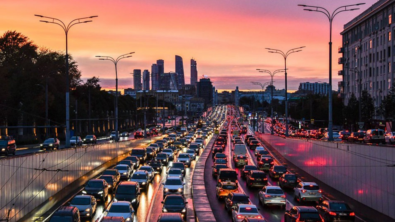 Moscow Has the Worst Traffic Jams in the World, Study Says