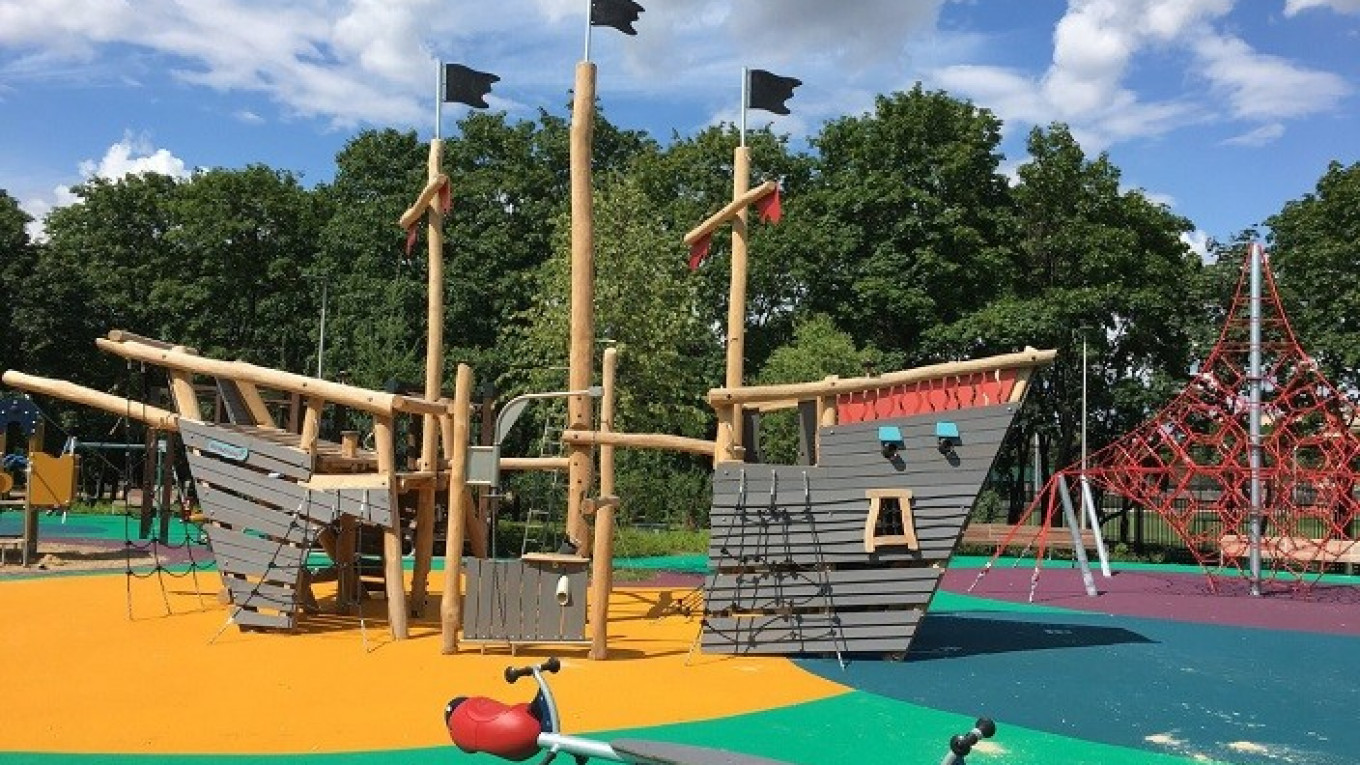 Best Playgrounds Outdoor The Moscow Times