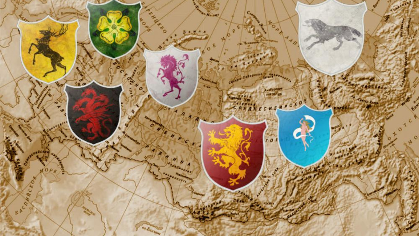The Real Inspiration for Game of Thrones' Banners Is Russia