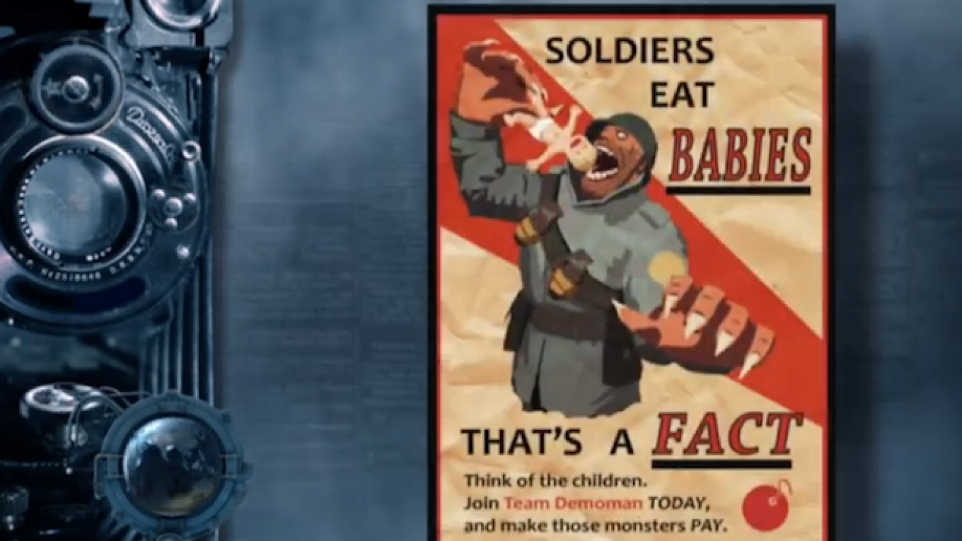 Russian State TV Airs 'Video Game Poster,' Claims It's U S