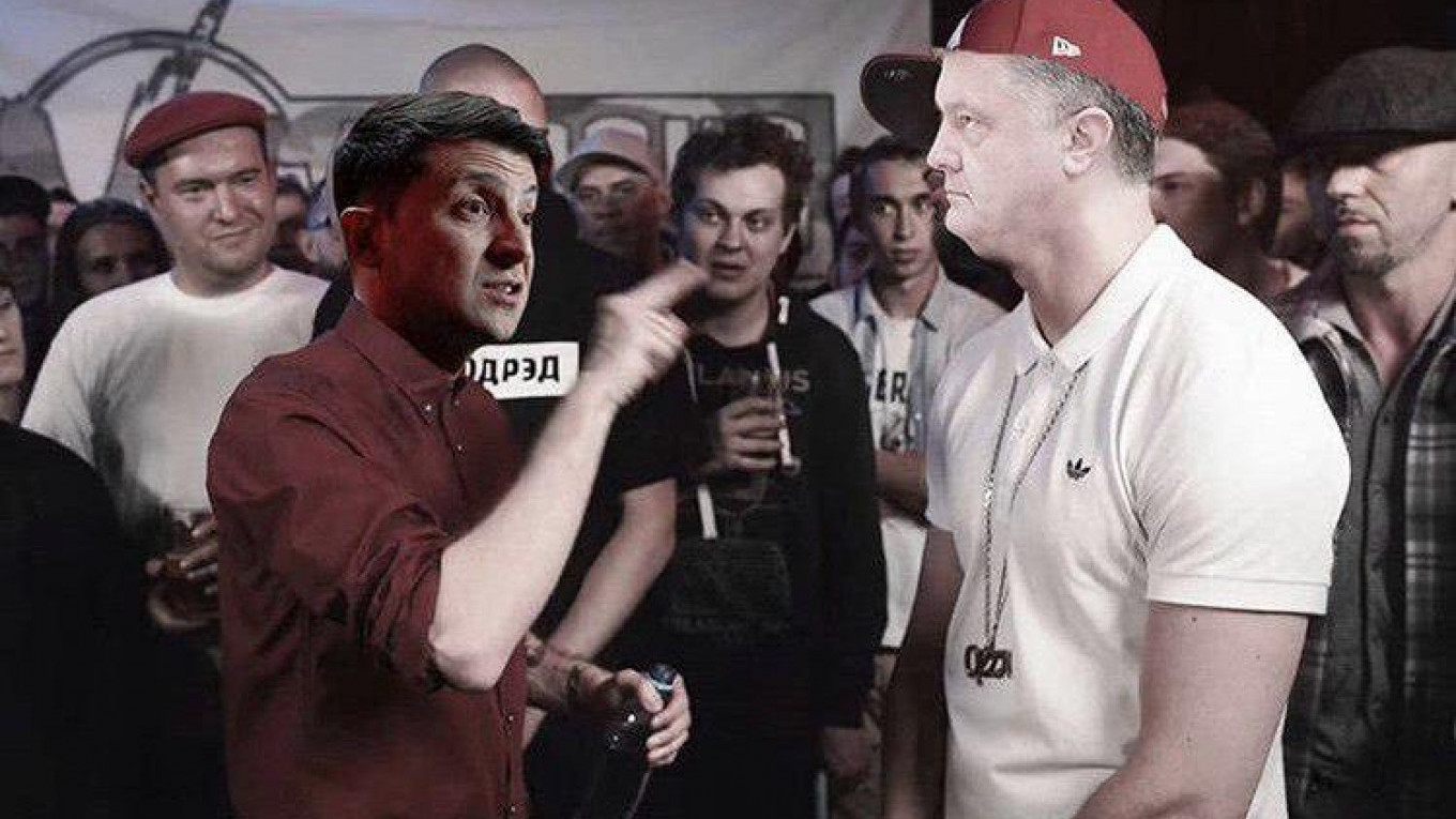 Russian Social Media Explodes With Memes After Zelenskiy's Win